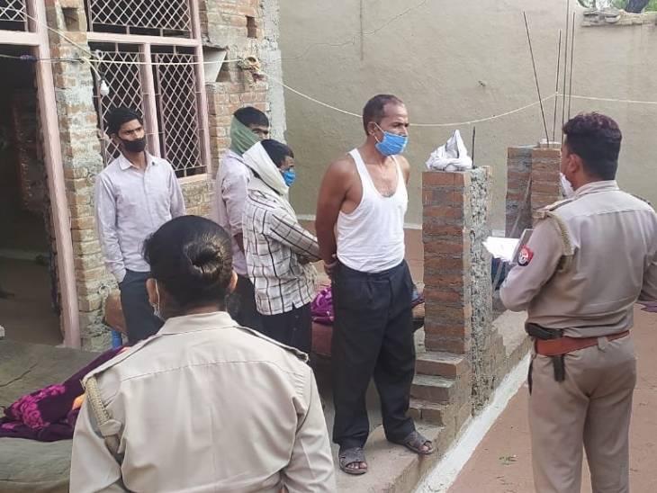 शादी समारोह से सुबह 4 बजे लौटा था पति, थाने में सरेंडर कर बोला- पत्नी के किसी और से थे नाजायज संबंध|उत्तरप्रदेश,Uttar Pradesh - Dainik Bhaskar