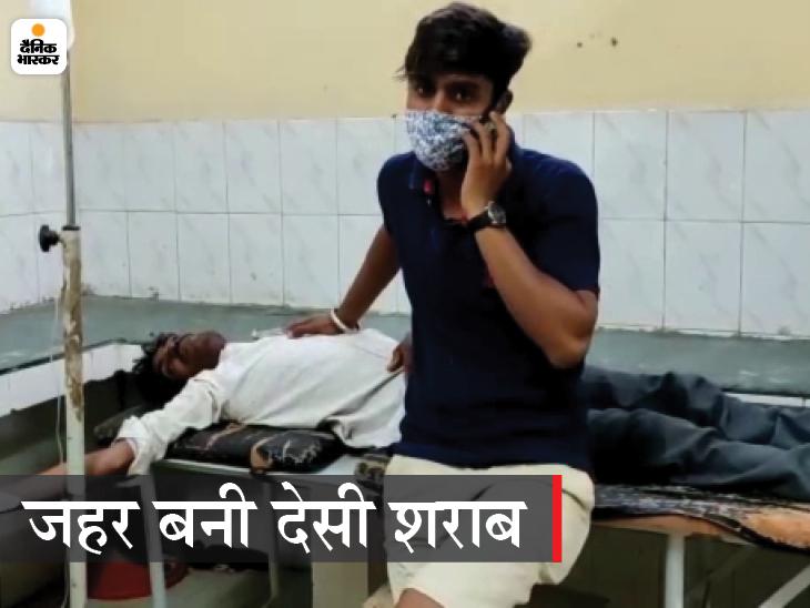 स्थानीय विधायक का दावा-16 मौतें हुई हैं, पर पुलिस का इंकार; एसओ समेत 4 पुलिसकर्मी निलंबित, 5 आरोपी भी गिरफ्तार|उत्तरप्रदेश,Uttar Pradesh - Dainik Bhaskar
