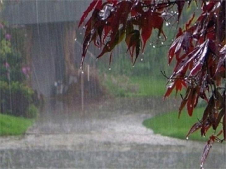 पिछले 24 घंटे में 32.2 मिलीमीटर बारिश; आज भी सुबह तेज हवाओं के साथ जोरदार बारिश, तापमान में गिरावट भिलाई,Bhilai - Dainik Bhaskar