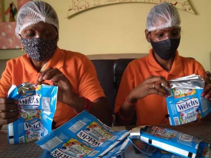 वाराणसी में कोरोना संक्रमित और तीमारदारों के लिए किया मुफ्त खाने का इंतजाम, एक दिन में 150 लोगों ने किया कॉल|उत्तरप्रदेश,Uttar Pradesh - Dainik Bhaskar
