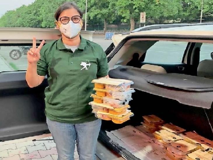 खाने से लेकर ब्लड, ऑक्सीजन और प्लाज्मा तक में मदद कर रही रॉबिनहुड आर्मी|चंडीगढ़,Chandigarh - Dainik Bhaskar