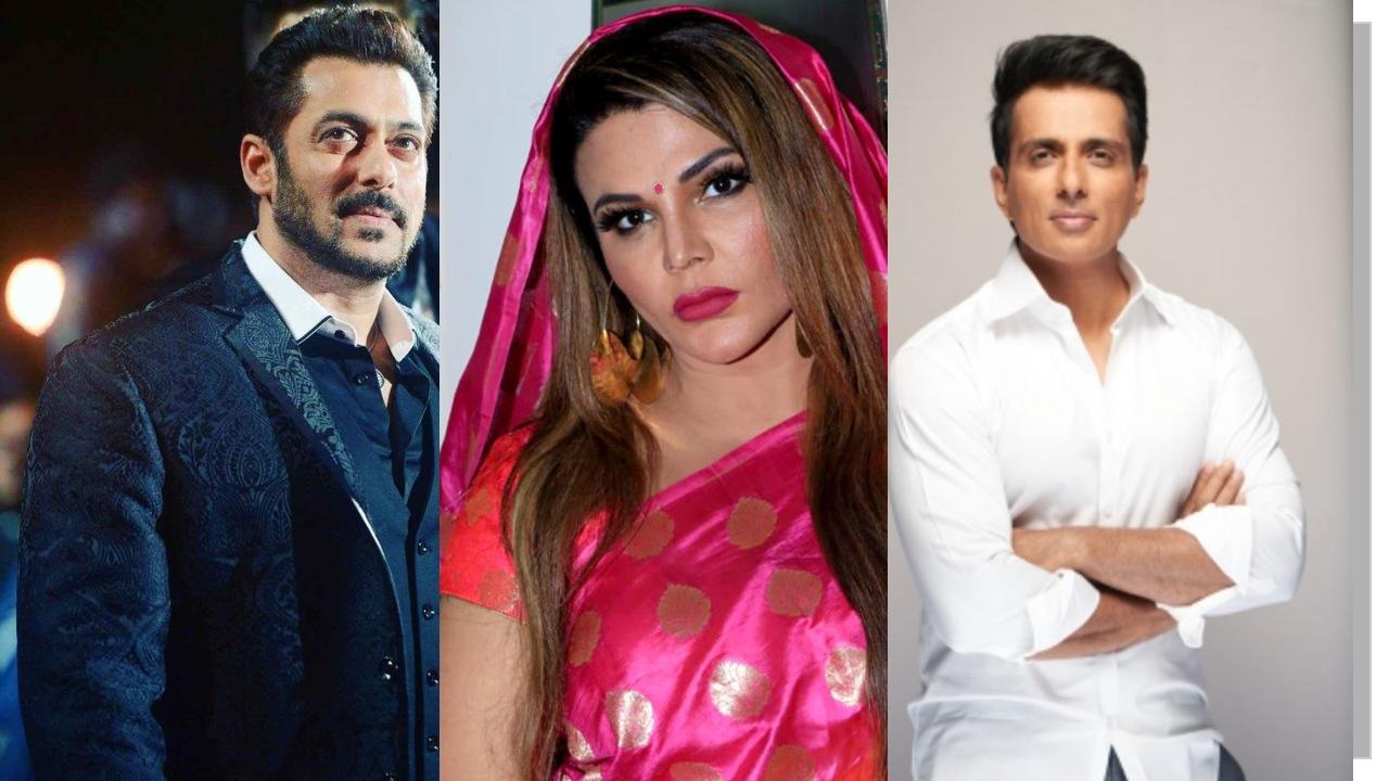 कोरोना से मौजूदा हालातों पर राखी सावंत बोलीं- सोनू सूद या सलमान खान को बना देना चाहिए देश का प्रधानमंत्री|टीवी,TV - Dainik Bhaskar