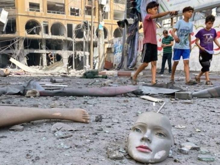 इजराइल ने कहा- अब हमले तभी बंद होंगे, जब दुश्मन को शांत कर देंगे; फिलिस्तीन का जवाब- हम भी तैयार हैं|विदेश,International - Dainik Bhaskar