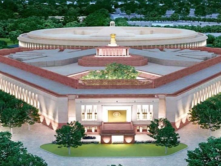 केंद्र ने कहा- जनहित की आड़ में सेंट्रल विस्टा प्राेजेक्ट का काम राेकने का प्रयास दिल्ली + एनसीआर,Delhi + NCR - Dainik Bhaskar