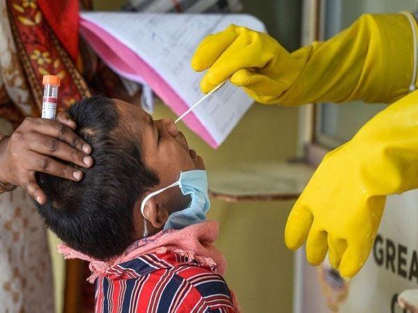 5 हजार से ज्यादा संक्रमित, पहली लहर में 11 सौ में सिमटी थी संख्या|रायपुर,Raipur - Dainik Bhaskar