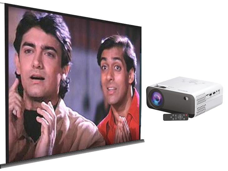 ये दीवार पर 150-इंच की स्क्रीन बनाएगा, घर पर मिलेगा सिल्वर स्क्रीन का मजा; जानिए क्या हैं इसकी खूबियां टेक & ऑटो,Tech & Auto - Dainik Bhaskar