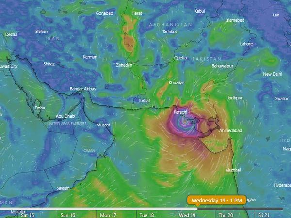 गुजरात में 19-20 मई को सौराष्ट्र-कच्छ तट से टकरा सकता है 'तौकते' तूफान, लक्षद्वीप द्वीपसमूह के निचले इलाकों के लिए अलर्ट|गुजरात,Gujarat - Dainik Bhaskar