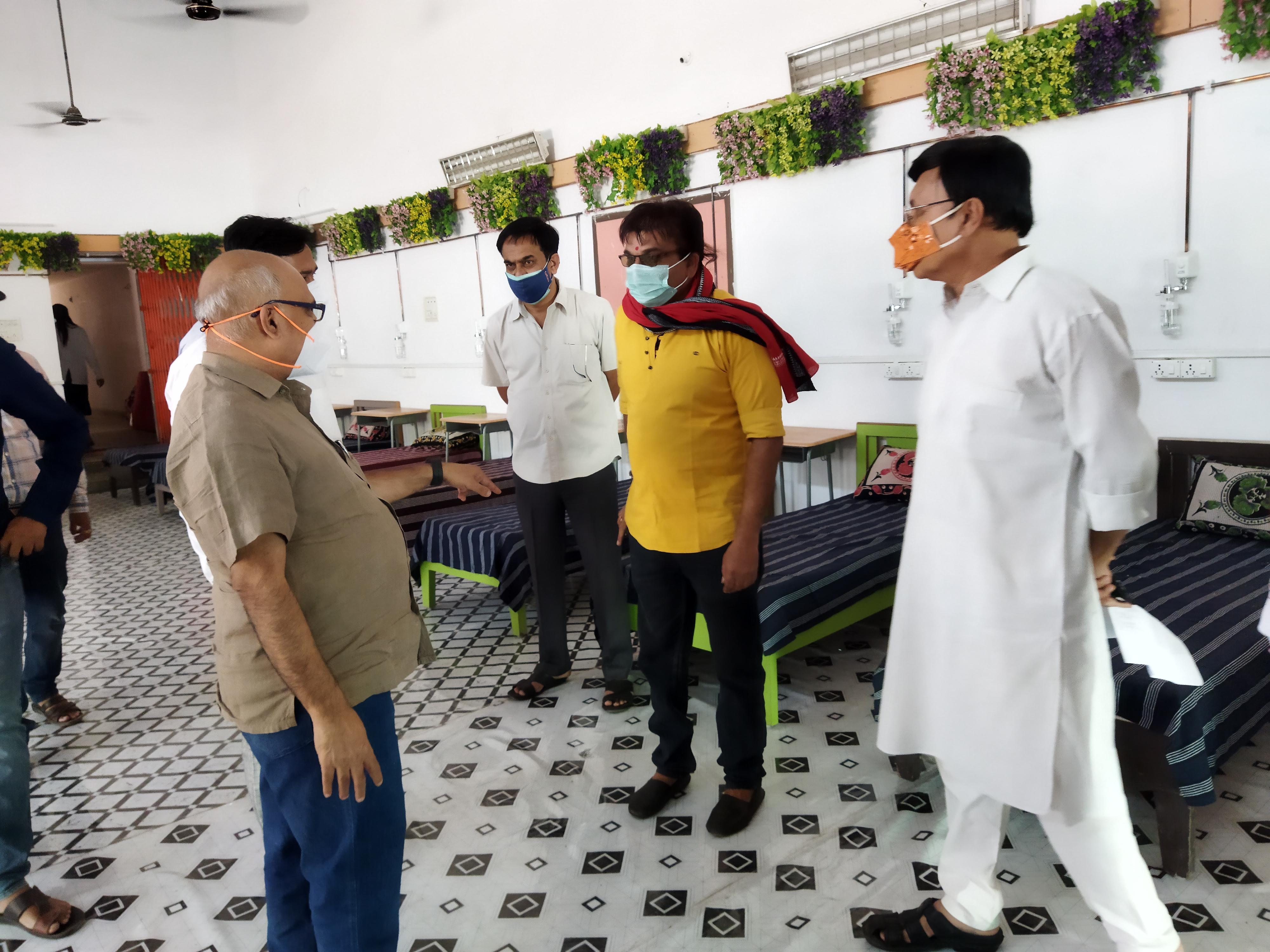 14 मई से मरीजों को करेंगे भर्ती, नि:शुल्क इलाज, भोजन सब कुछ नि:शुल्क, 20 ऑक्सीजन व 30 सामान्य तैयार होशंगाबाद,Hoshangabad - Dainik Bhaskar