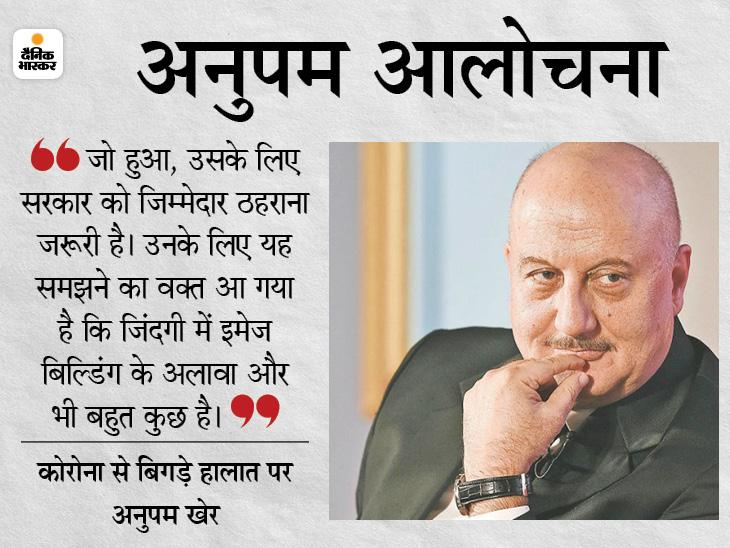 हालात संभालने में चूकी सरकार को जिम्मेदार ठहराना जरूरी; इस वक्त अपनी इमेज से ज्यादा लोगों की जान बचाने की चिंता करें देश,National - Dainik Bhaskar