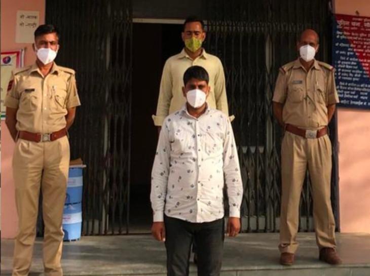सांभर झील में नमक विवाद: जयपुर में पकड़ा गया नमक कारोबारी का हत्यारा, जानलेवा हमला कर जीप से कुचला और फिर गाड़ियों में लगा दी थी आग