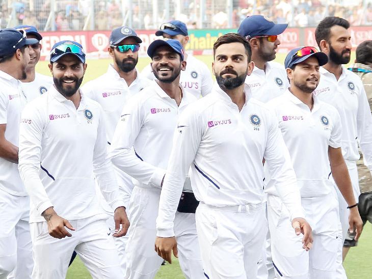 टीम इंडिया पहले और न्यूजीलैंड दूसरे नंबर पर बरकरार, दोनों टीमें अगले महीने वर्ल्ड टेस्ट चैम्पियनशिप के फाइनल में भिड़ेंगी क्रिकेट,Cricket - Dainik Bhaskar