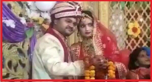 शादी के दूसरे दिन ही दुल्हन पॉजिटिव, 12वें दिन मौत; शादी के जोड़े में ही अंतिम विदाई; पति की हालत नाजुक|उत्तरप्रदेश,Uttar Pradesh - Dainik Bhaskar