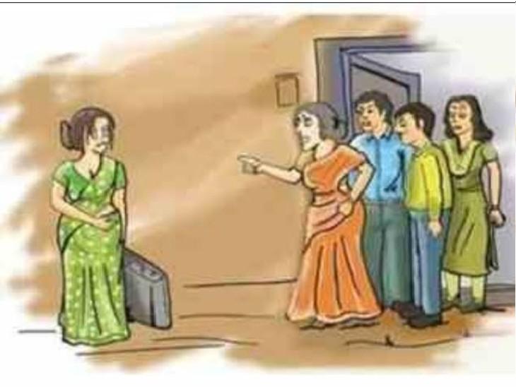 कार, 2 लाख रुपए के लिए कोचिंग संचालक ने पत्नी को धक्के देकर घर से निकाला, FIR|ग्वालियर,Gwalior - Dainik Bhaskar