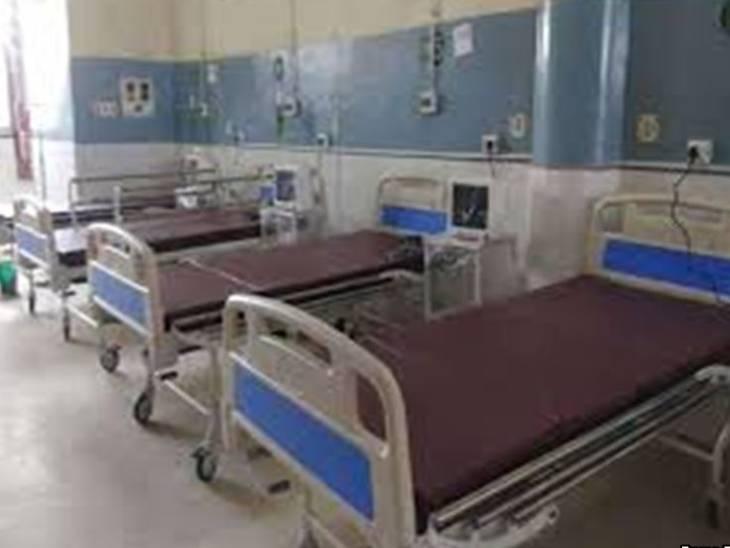 अटल बिहारी वाजपेयी कोविड अस्पताल में 250 बेडों में से 78 खाली हैं। - Dainik Bhaskar