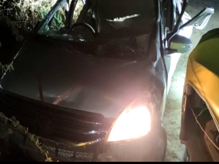 इटावा से फिरोजाबाद जा रही कार स्टेयरिंग फेल होने से पेड़ से टकराई; 3 लोगों की मौत, दूल्हा समेत 4 लोग जख्मी|उत्तरप्रदेश,Uttar Pradesh - Dainik Bhaskar