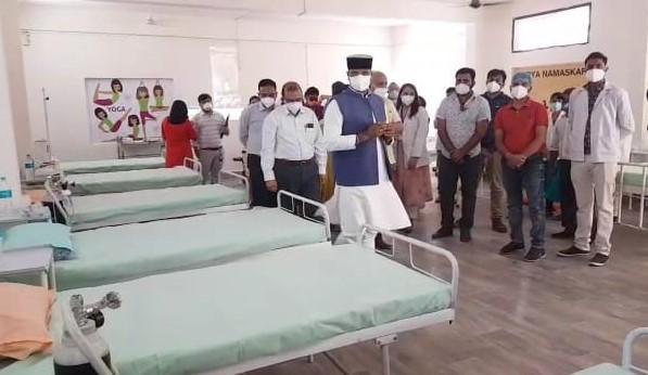 ब्लैक फंगस जैसी बीमारियों को देखते हुए भोपाल में पहला स्टेप डाउन कोविड केयर सेंटर शुरू; अब मध्यप्रदेश भर में सेंटर बनाए जाएंगे|मध्य प्रदेश,Madhya Pradesh - Dainik Bhaskar