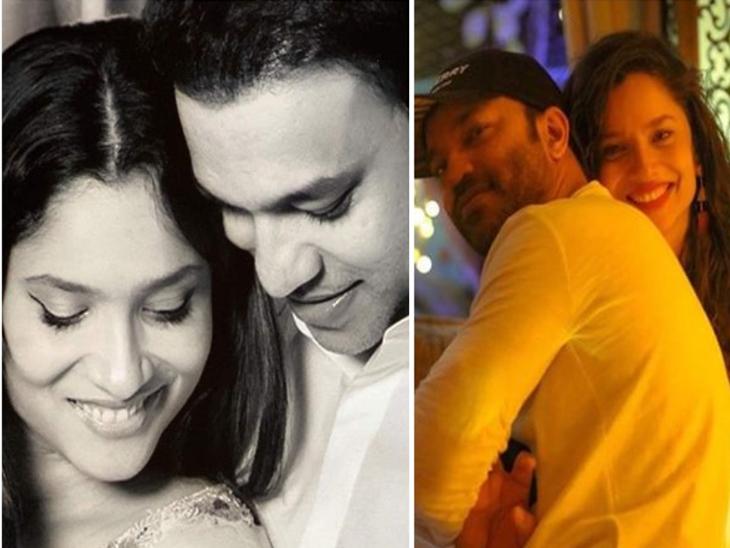 सुशांत सिंह राजपूत की एक्स-गर्लफ्रेंड अंकिता लोखंडे ने दिए ब्वॉयफ्रेंड विकी जैन से जल्द शादी के संकेत, कर सकती हैं डेस्टिनेशन वेडिंग|बॉलीवुड,Bollywood - Dainik Bhaskar