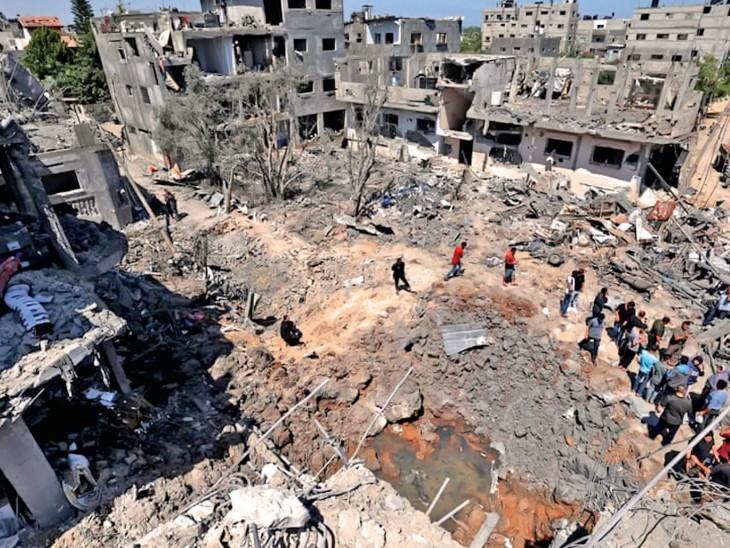 13 साल में इजरायल में 250 मौतें, फिलिस्तीन में 22 गुना ज्यादा; जंग थमती है तो 2-3 साल बाद फिर बढ़ जाते हैं हमले|देश,National - Dainik Bhaskar