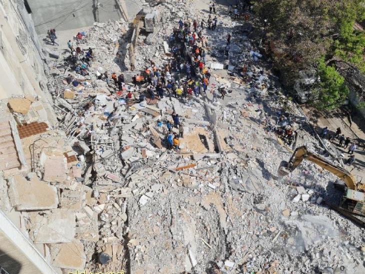 इजराइल ने गाजा पर नियंत्रण करने वाले संगठन हमास के 500 से अधिक ठिकाने तबाह करने का दावा किया है।