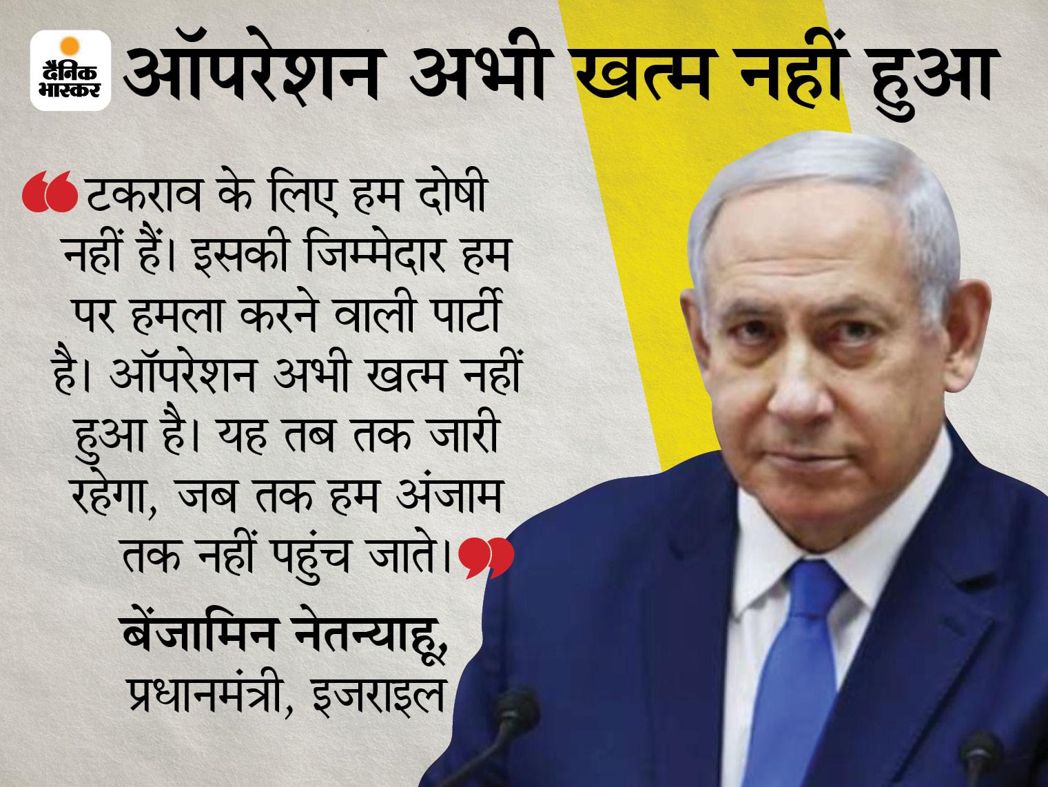इजराइली सेना की एयरस्ट्राइक में हमास के चीफ का घर तबाह; UN ने फौरन जंग रोकने को कहा|विदेश,International - Dainik Bhaskar