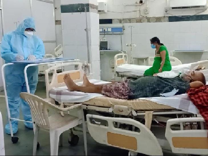बिलासपुर CIMS में म्यूकर माइकोसिस पीड़ित दो महिलाओं सहित 4 मरीज भर्ती, 2 की हालत गंभीर बिलासपुर,Bilaspur - Dainik Bhaskar