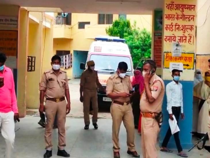 मकान बंटवारे के विवाद में पिता ने ही बेटे की गर्दन पर चलाया नश्तर, फिर खुद पर किया चाकू से वार; पूजा के बहाने ले गया था मंदिर|उत्तरप्रदेश,Uttar Pradesh - Dainik Bhaskar