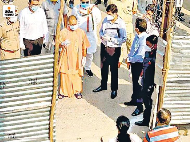 संक्रमित ट्रांसपोर्ट कारोबारी की पत्नी का निधन; 5 दिन पहले परिवार से CM योगी ने की थी मुलाकात उत्तरप्रदेश,Uttar Pradesh - Dainik Bhaskar