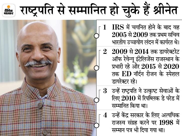 नियुक्ति के एक महीने बाद आयोग पहुंचे 1993 बैच के IRS अफसर संजय श्रीनेत; परीक्षाओं को तय समय पर कराना सबसे बड़ी चुनौती|प्रयागराज,Prayagraj - Dainik Bhaskar