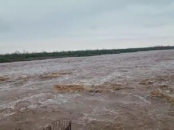 'ताऊ-ते' तूफान के असर से बेमौसम बरसात; अमरेली-राजुला के डैम ओवरफ्लो होने से हिंडोरणा नदी में बाढ़|गुजरात,Gujarat - Dainik Bhaskar
