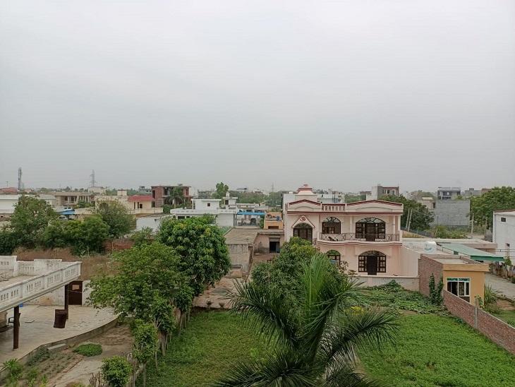 ताऊ ते तूफान के असर से 7 डिग्री गिरा तापमान, आसमान में छाए बादलों ने दिलाई गर्मी से राहत|पानीपत,Panipat - Dainik Bhaskar