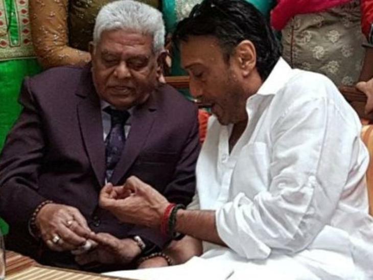 जैकी श्रॉफ के 37 साल तक मेकअप आर्टिस्ट रहे शशि सातम का हुआ निधन, एक्टर बोले-शशि दादा आप हमेशा मेरे दिल में रहेंगे|बॉलीवुड,Bollywood - Dainik Bhaskar
