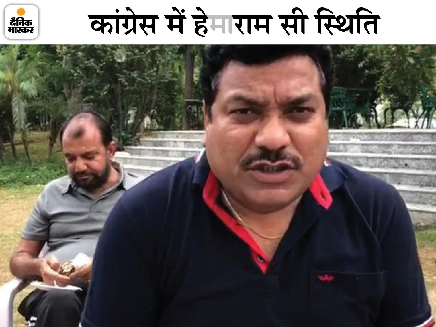 पायलट समर्थक MLA वेदप्रकाश सोलंकी बोले- ज्यादातर विधायक मजबूरीवश चुप हैं और घुट रहे हैं; सुनवाई नहीं हुई तो मैं भी इस्तीफा दे दूंगा|जयपुर,Jaipur - Dainik Bhaskar