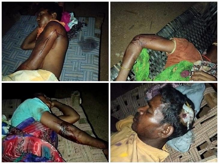 नक्सलियों और जवानों के बीच हुई मुठभेड़ के दौरान 6 जवान और 5 ग्रामीण घायल हुए हैं।