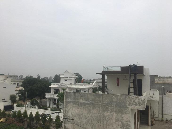 सुबह से ही बूंदाबांदी शुरू, दो दिन में 16 डिग्री गिरा अधिकतम तापमान|पानीपत,Panipat - Dainik Bhaskar
