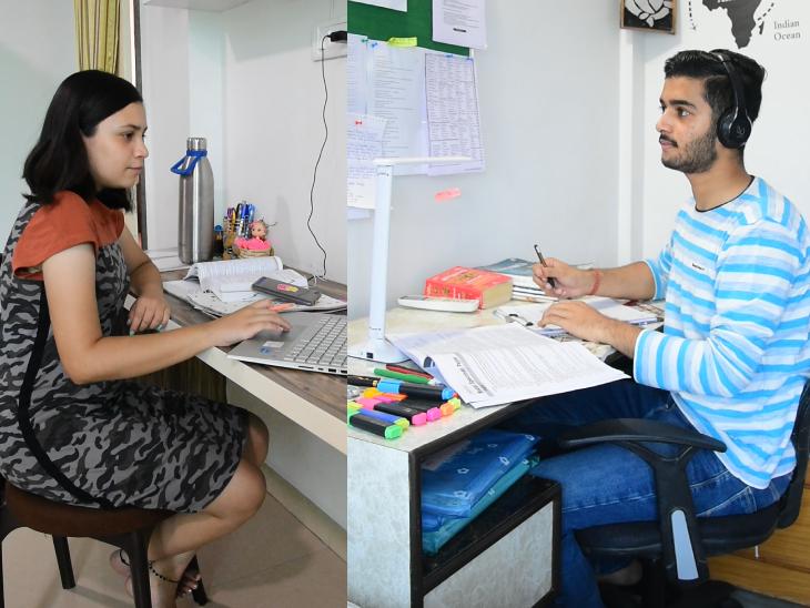 मान्या 10वीं क्लास की स्टूडेंट है। जबकि अर्थव जोशी 12वीं में पढ़ते हैं। दोनों की पढ़ाई ऑनलाइन एजुकेशन की वजह से प्रभावित हुई है।