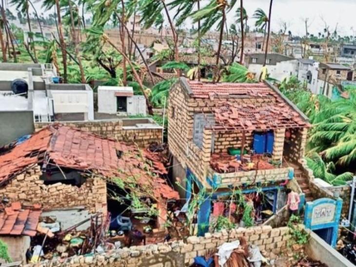 ओडिशा की ओर बढ़ रहा बंगाल की खाड़ी में बना तूफान यास; महाराष्ट्र, राजस्थान और गुजरात में ताऊते के चलते भारी बारिश|देश,National - Dainik Bhaskar