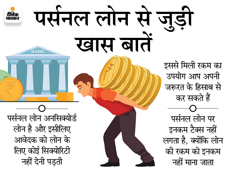 कोरोना काल में पर्सनल लोन से दूर हो सकती है पैसों की किल्लत, जानें इसके 5 फायदे|बिजनेस,Business - Dainik Bhaskar