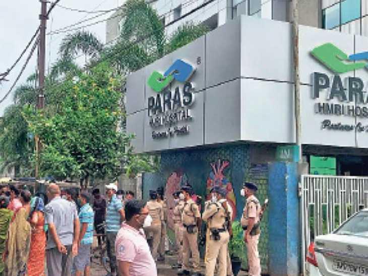 आईसीयू में भर्ती जिस कोरोना पीड़ित महिला से छेड़खानी का लगा था आरोप, उसकी मौत, पारस अस्पताल पर केस|पटना,Patna - Dainik Bhaskar