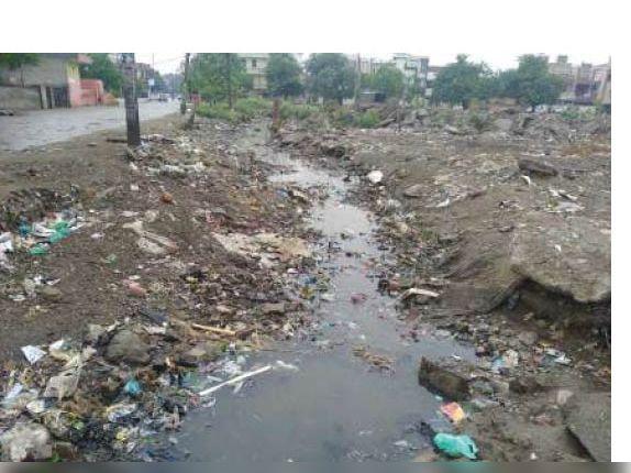गृहमंत्री विज काे शिकायत भेजने पर भी सेक्टर-25 समेत अन्य सेक्टराें में साफ नहीं हुई सीवर लाइन|पानीपत,Panipat - Dainik Bhaskar