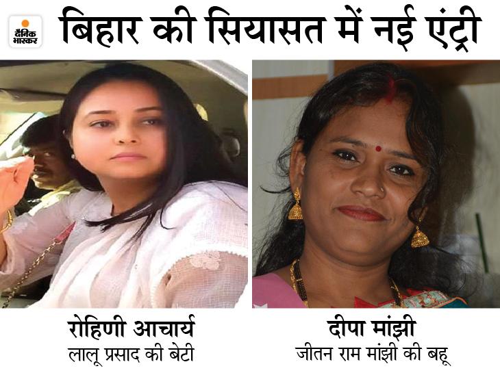लालू की बेटी मांझी से बोलीं- क्या समधिन और दामाद से सेवा करवा रहे हो? बहू ने जवाब दिया- भाभी को घर में पिटवाती हो, ज्ञान कहां से लाती हो?|बिहार,Bihar - Dainik Bhaskar