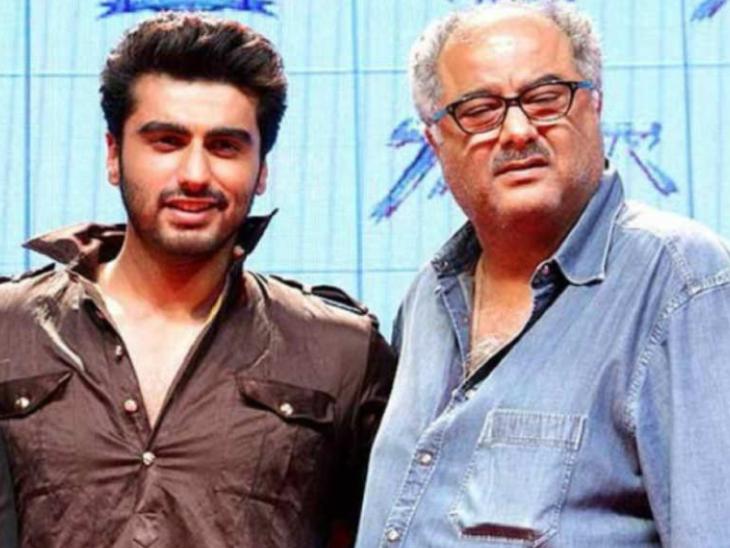 अर्जुन कपूर ने पिता बोनी कपूर और श्रीदेवी की दूसरी शादी पर की बात, कहा- मैं यह नहीं कह सकता कि मेरे पिता ने जो किया वह ठीक था|बॉलीवुड,Bollywood - Dainik Bhaskar