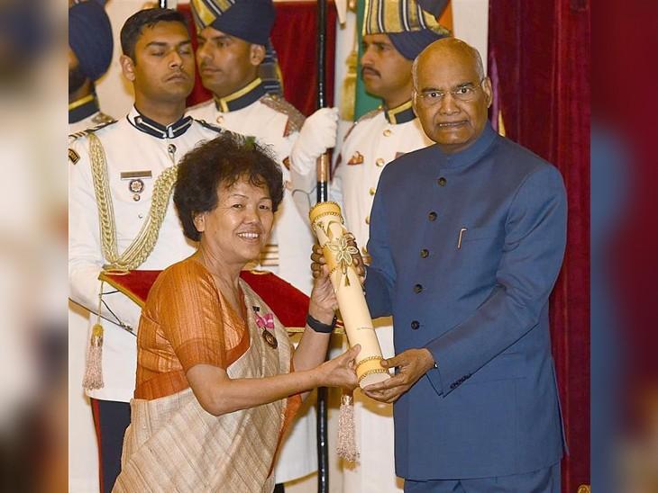2019 में बछेंद्री पाल को पद्म भूषण से सम्मानित किया गया।