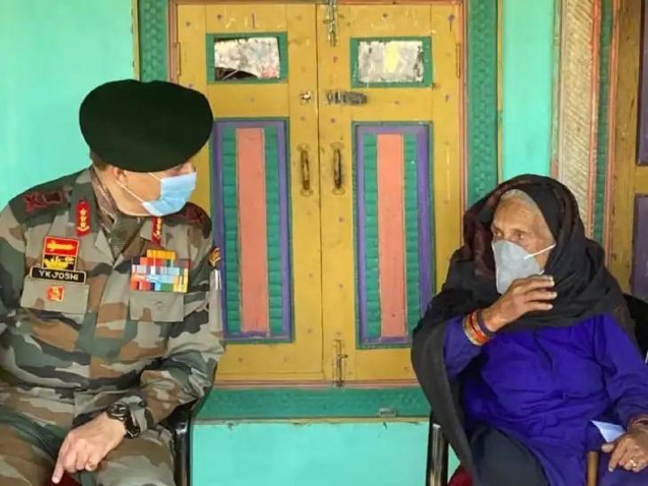 जम्मू-कश्मीर में उधमपुर के गर कटियास गांव में 120 साल की दादी चला रही टीका मुहिम, सेना के कैंप में खुद टीका लगवाया और दूसरों को भी किया प्रेरित लाइफस्टाइल,Lifestyle - Dainik Bhaskar