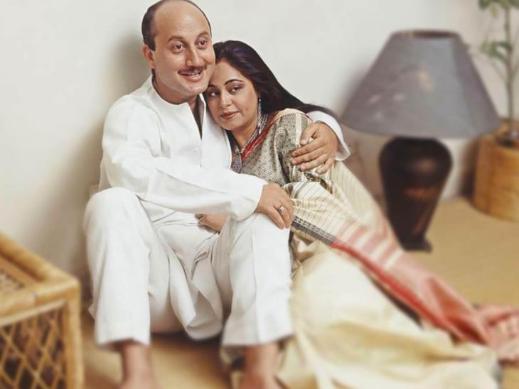 शादीशुदा होते हुए एक-दूसरे के करीब आए थे अनुपम खेर और किरण, अपने पार्टनर्स को तलाक देकर कर ली थी एक-दूसरे से शादी|बॉलीवुड,Bollywood - Dainik Bhaskar