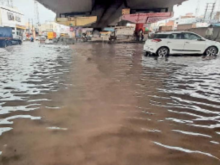 अलसुबह आंधी के साथ हुई 5.1 एमएम बारिश, मौसम में घुली ठंडक|पानीपत,Panipat - Dainik Bhaskar