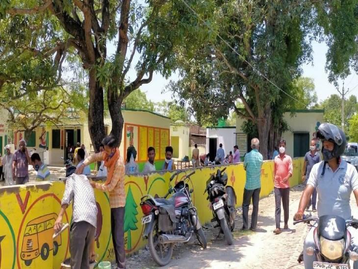 25 को बहराइच का दौरा कर सकते हैं CM; गांवों को चमकाने में जुटा सरकारी अमला, दो गांवों का कर सकते हैं दौरा उत्तरप्रदेश,Uttar Pradesh - Dainik Bhaskar