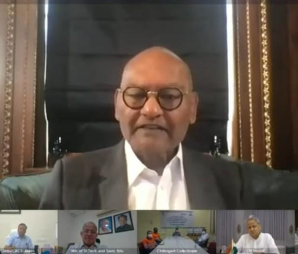 वेदांता ग्रुप के अध्यक्ष अनिल अग्रवाल बोले- आज ही अदार पूनावाला और उनके पिता को घर बुलाकर राजस्थान को ज्यादा से ज्यादा वैक्सीन देने की बात कही है जयपुर,Jaipur - Dainik Bhaskar