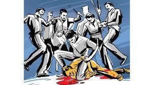 जर्मनी से लौटे व्यक्ति के सिगरेट पीने से खफा होकर टेलर भाई समेत बेरहमी से पीटा; जान बचाने भागे तो घर का गेट भी तोड़ा|जालंधर,Jalandhar - Dainik Bhaskar