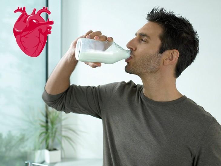 दिल की बीमारियों और स्ट्रोक का खतरा 14% तक घटाने के लिए रोजाना एक गिलास दूध पिएं; यह कोलेस्ट्रॉल भी कंट्रोल में रखता है|लाइफ & साइंस,Happy Life - Dainik Bhaskar