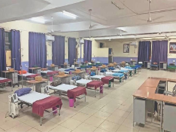 रोजाना आने वाले मरीजों से ज्यादा हो रहे ठीक, एक्टिव केस 80 हजार से घटकर 55 हजार हुए, नतीजा- अस्पतालों में 35 फीसदी बेड खाली|जालंधर,Jalandhar - Dainik Bhaskar
